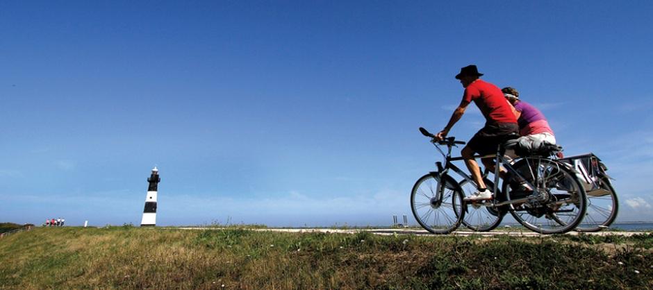 Ferienpark in Nord Holland Startpunkt einer Radtour